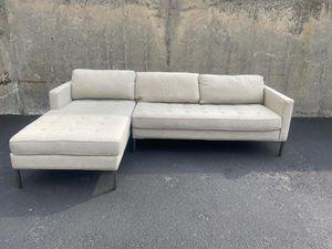 Blu dot sectional sofa beige for Sale in Brooklyn, NY