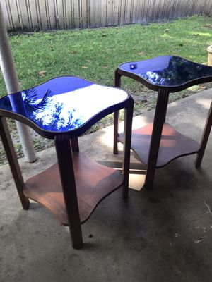 Pair of Art Deco end tables for Sale in West Palm Beach, FL