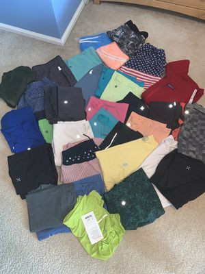 Men's Lululemon,Chubbies,Patagonia,Birdogs for Sale in Chesterfield, MO
