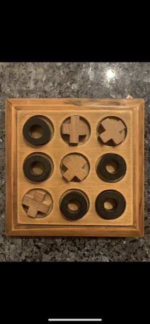 Wooden Tic Tac Toe game. for Sale in Tampa, FL