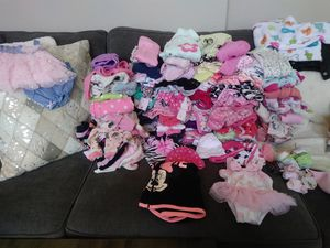 Baby girl clothes for Sale in Tracy, CA