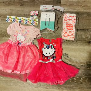 Hello Kitty Birthday Dress Bundled for Sale in Whittier, CA