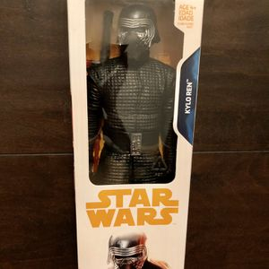 "DISNEY Star Wars The Force Awakens KYLO REN 12"" Inch Action Figure Hasbro Toy Disney NIB for Sale in Corona, CA"