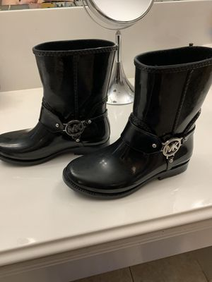 Micheal Kors rain boots for Sale in Houston, TX