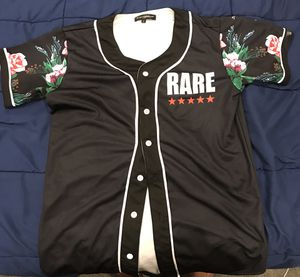 Button up Baseball tee for Sale in Hanover, MD