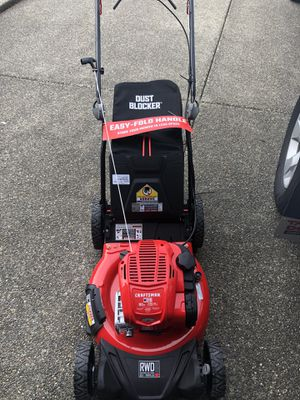Craftsman M310 RWD mower (brand new) for Sale in Puyallup, WA