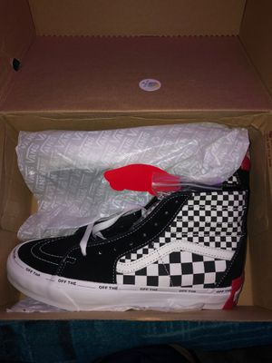 brand new size 8 hi-top vans for Sale in Yeadon, PA