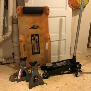 3 Ton Car Jack and Stands and Creeper for Sale in Portland, OR