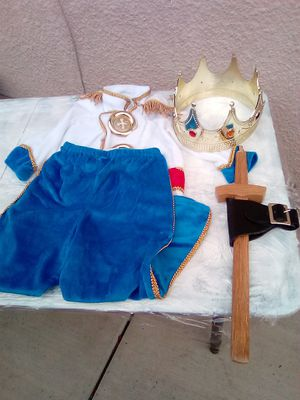 Costume for toddlers as a prince for Sale in Pomona, CA