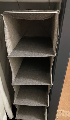 Burlap Closet Clothes And Accessories Organizer for Sale in Universal City, CA