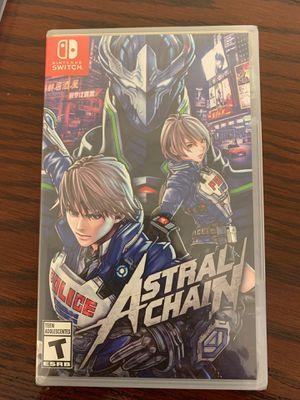 Nintendo Switch Astral Chain for Sale in Costa Mesa, CA