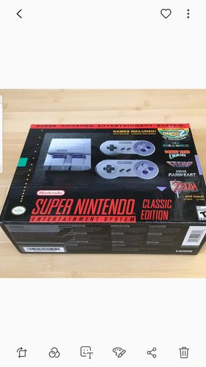 SUPER NINTENDO CLASSIC EDITION!!! for Sale in Queens, NY