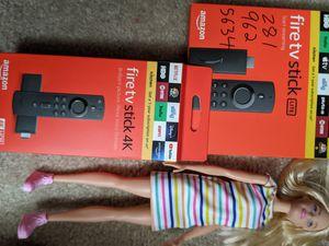 Fastest 4k Fire TV or regular Stick, also LITE for Sale in Houston, TX