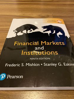 financial markets and institutions 9th edition Book for Sale in Portland,  OR