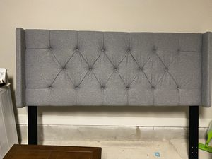 Upholstered King Headboard for Sale in Dallas, TX