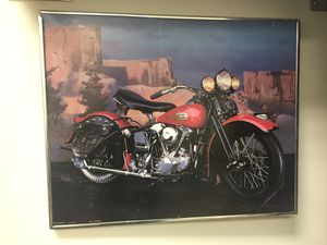 Harley-Davidson Motorbikes photo in frame for Sale in Washington, DC