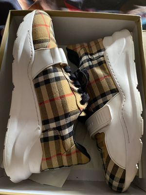 Burberry Shoes And Tee Shirt for Sale in Fort Wayne, IN