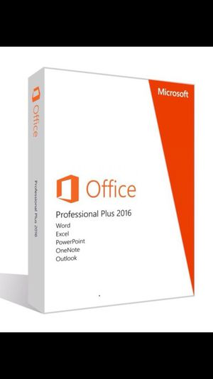 Office 2016 pro plus. New genuine digital download for Sale in Tacoma, WA