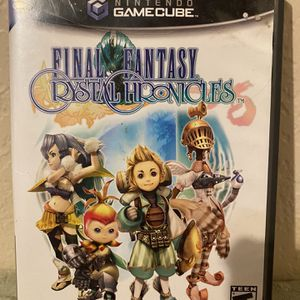 Final Fantasy Cristal Chronicles For GameCube for Sale in Mesa, AZ
