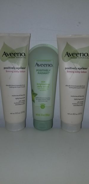 Aveeno Positively Radiant Bundle for Sale in Kent, WA
