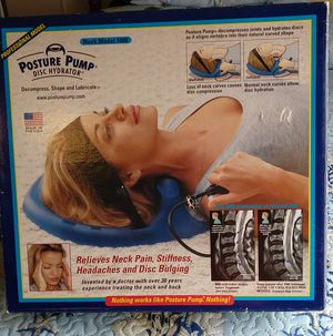 Neck Posture Pump for Sale in Millsboro, DE