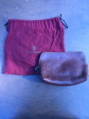 Cole Haan Leather Toiletry Bag & Wallet for Sale in Seattle, WA