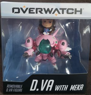 2018 SDCC Blizzard Exclusive Cute But Deadly D.VA with MEKA OVERWATCH Figure Toy for Sale in San Diego, CA