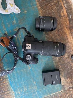 Canon rebel digital slr camera and lenses for Sale in Vallejo, CA