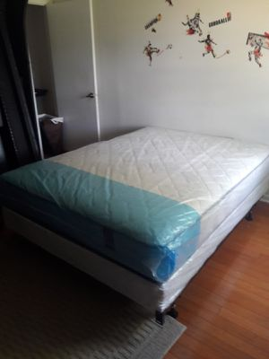 NEW QUEEN MATTRESS AND BOX SPRING. FREE DELIVERY for Sale in Lake Park, FL