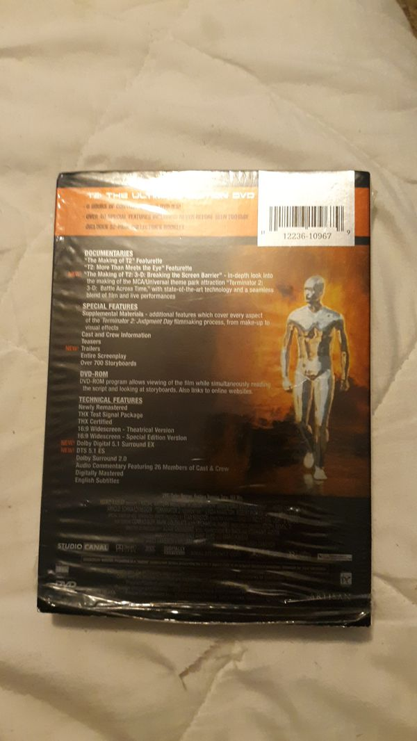 Termination 2 Judgment Day DVD ( Brand New, Never Opened )