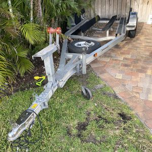 Aluminum Ramlin Boat Trailer for Sale in Fort Lauderdale, FL