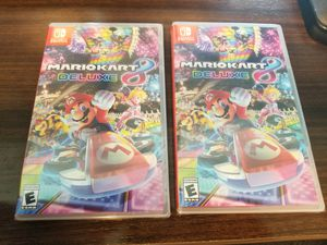 Brand New Mario Kart 8 Deluxe for Nintendo Switch for Sale in Los Angeles, CA