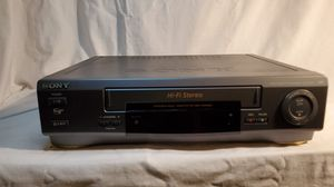 Sony VHS cassette player for Sale in North Chesterfield, VA