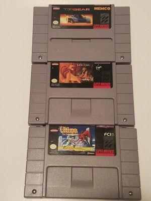 Super Nintendo Game lot - SNES for Sale in Belleville, MI