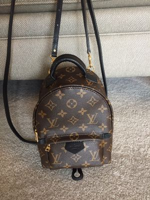Louis Vuitton LV mini Backpack Crossbody Bag Purse Handbag for Sale in Waldo, WI