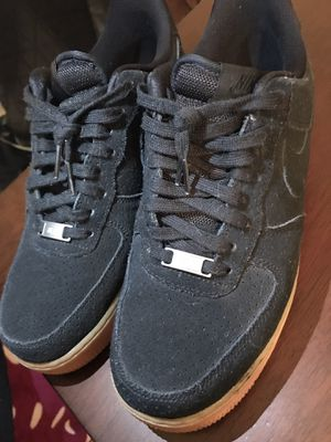 AF1 (All Black Suede) for Sale in Spring, TX