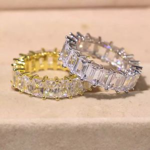 Unisex 925 Sterling Silver and 18K Gold plated Matching Ring Set- Prince Cut-Code F008L for Sale in Baltimore, MD