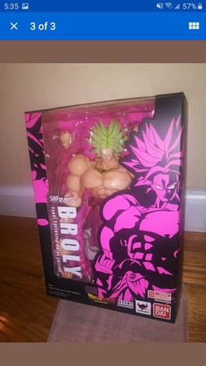 BROLY Convention S.H.Figuarts BanDai Comic Con Convention Exclusive Dragonball Z for Sale in Mesa, AZ