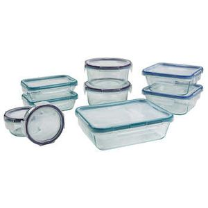Snapware Pyrex 18-piece Glass Food Storage Set NEW for Sale in Fort Lauderdale, FL