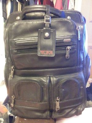 Tumi, Alpha 3 Compact Laptop Backpack for Sale in Brazil, IN