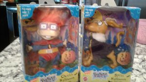 Rugrats Halloween Figures Chuckie and Spike for Sale in Buckeye, AZ