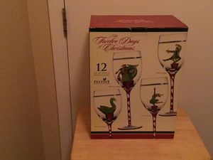 Festive Collection Wine Glasses for Sale in Las Vegas, NV