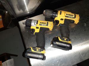 12v DeWalt set drills for Sale in Renton, WA