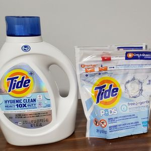 Tide Free & Gentle Laundry Bundle for Sale in Brooklyn, NY