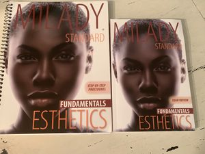 Malady Esthetics Fundamentals books for Sale in Scottsdale, AZ