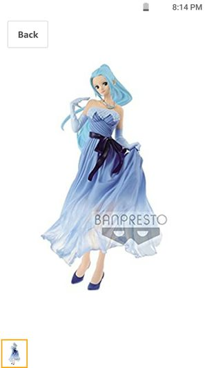 Banpresto One Piece Anime Series Prize Figure Nefertari Vivi for Sale in Vista, CA