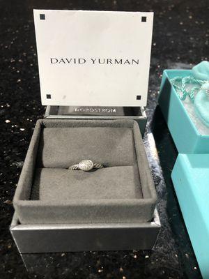 David Yurman ring sz 6 and a half , tiffany & co necklace for Sale in Alexandria, VA