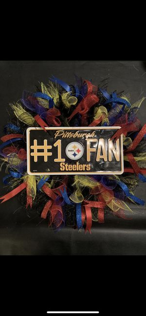 Pittsburgh Steelers Wreath for Sale in Avondale, AZ
