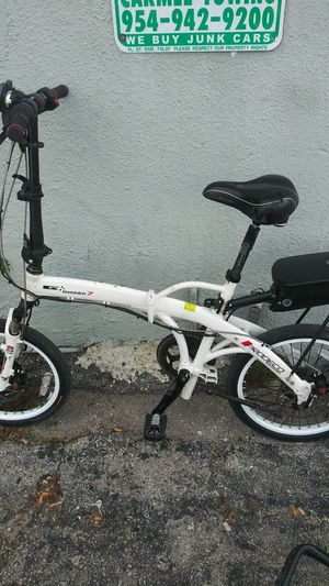Mariner 7 foldable electric bicycle with charger for Sale in Pompano Beach, FL