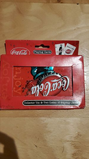 Coca cola playing cards for Sale in Hillsboro, OR